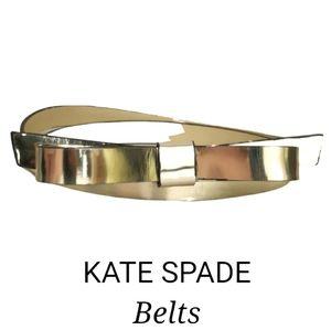 NWOT Kate Spade bow tie belt